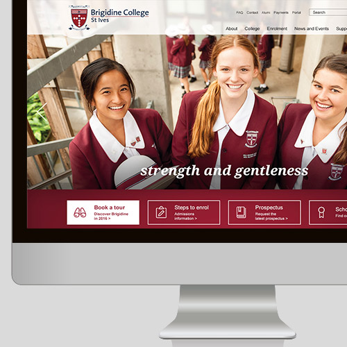 Brigidine College Website